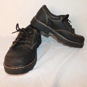 Skechers Vintage Chunky Oxford Leather Platform